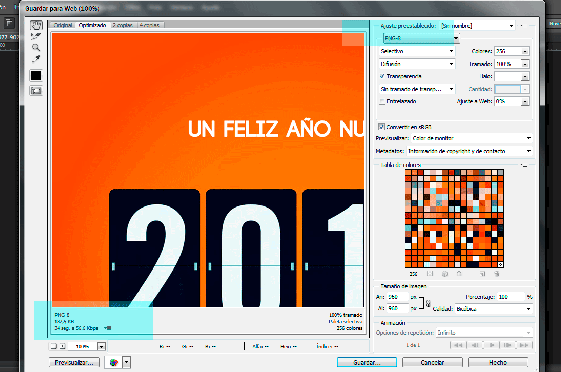 optimizacion imagenes con photoshop