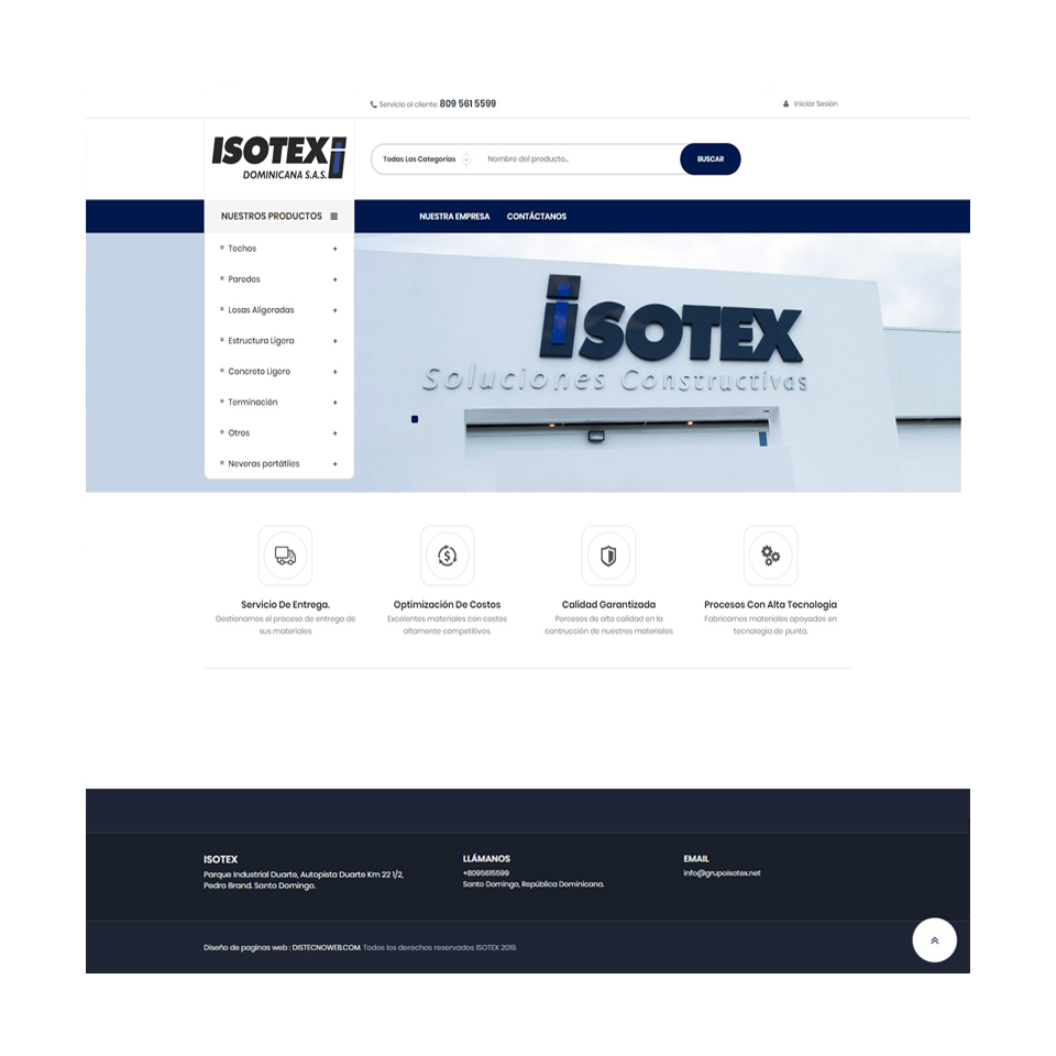 grupoisotex.net - Soluciones Constructivas