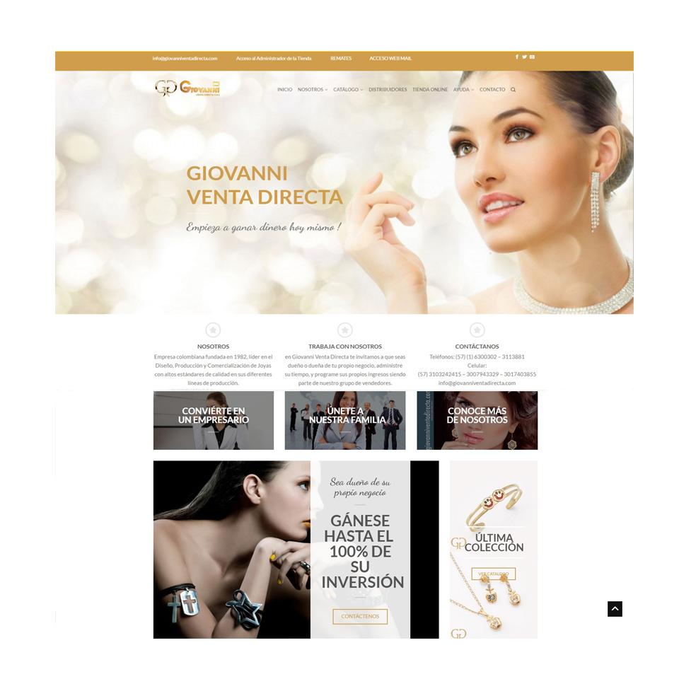 Giovanni venta Directa Accesorios para Mujeres, Hombres y Niños