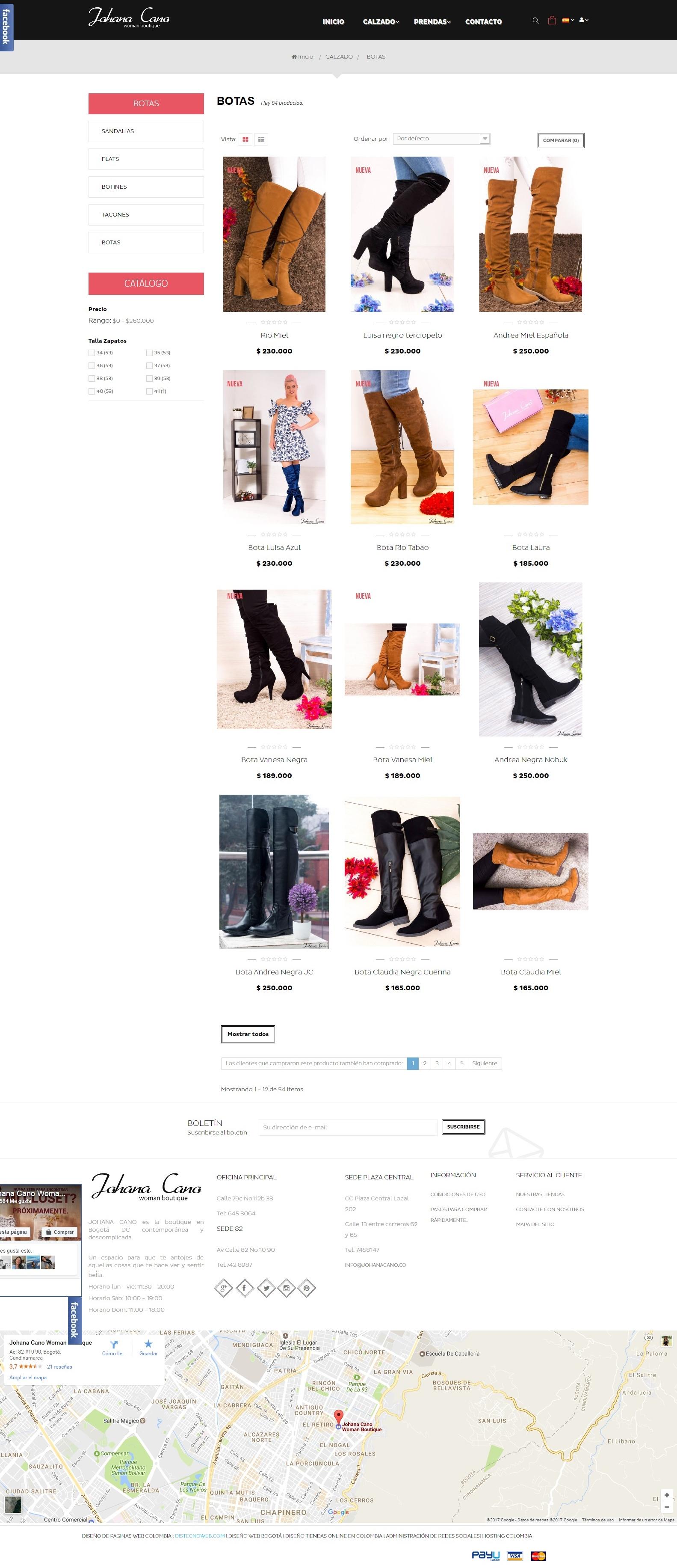 831f43a39411 Johana Cano Importados - Tienda Online de ropa sport y casual para ...