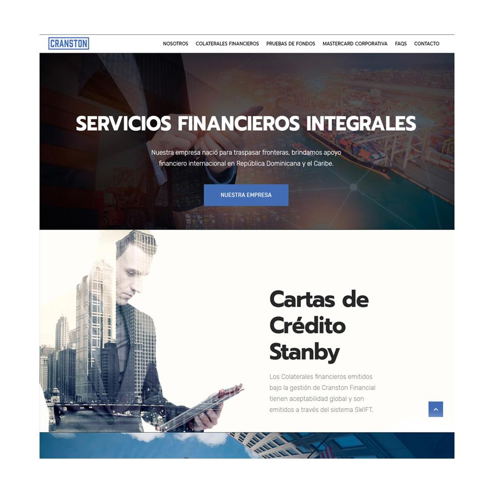 servicios financieros en el exterior