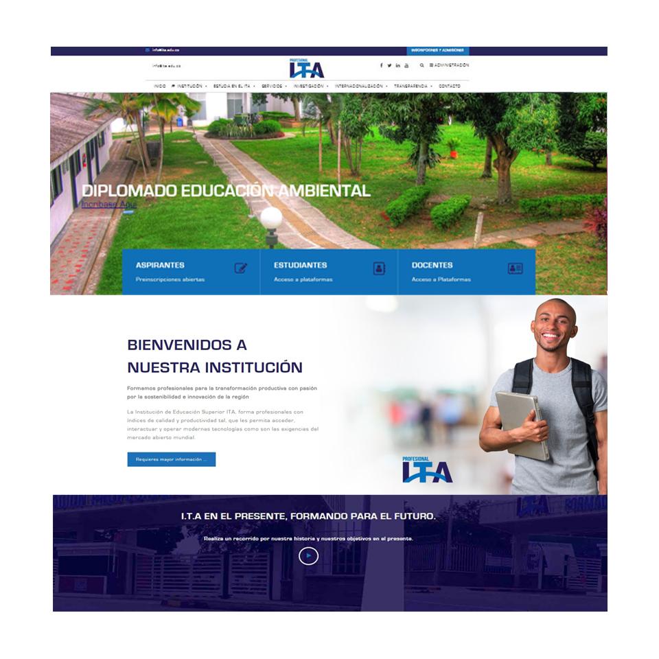 ITA - institución de educación superior.