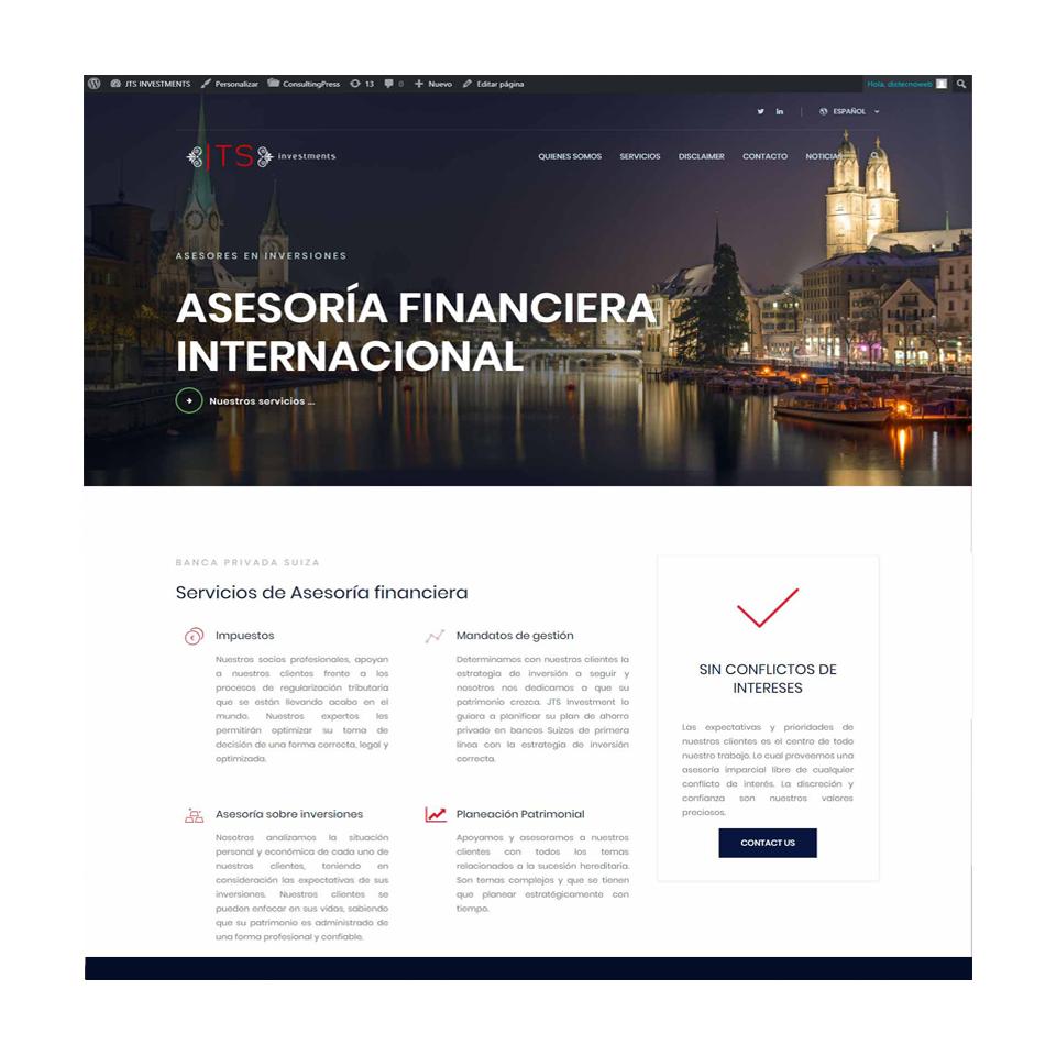 Asesoría financiera internacional