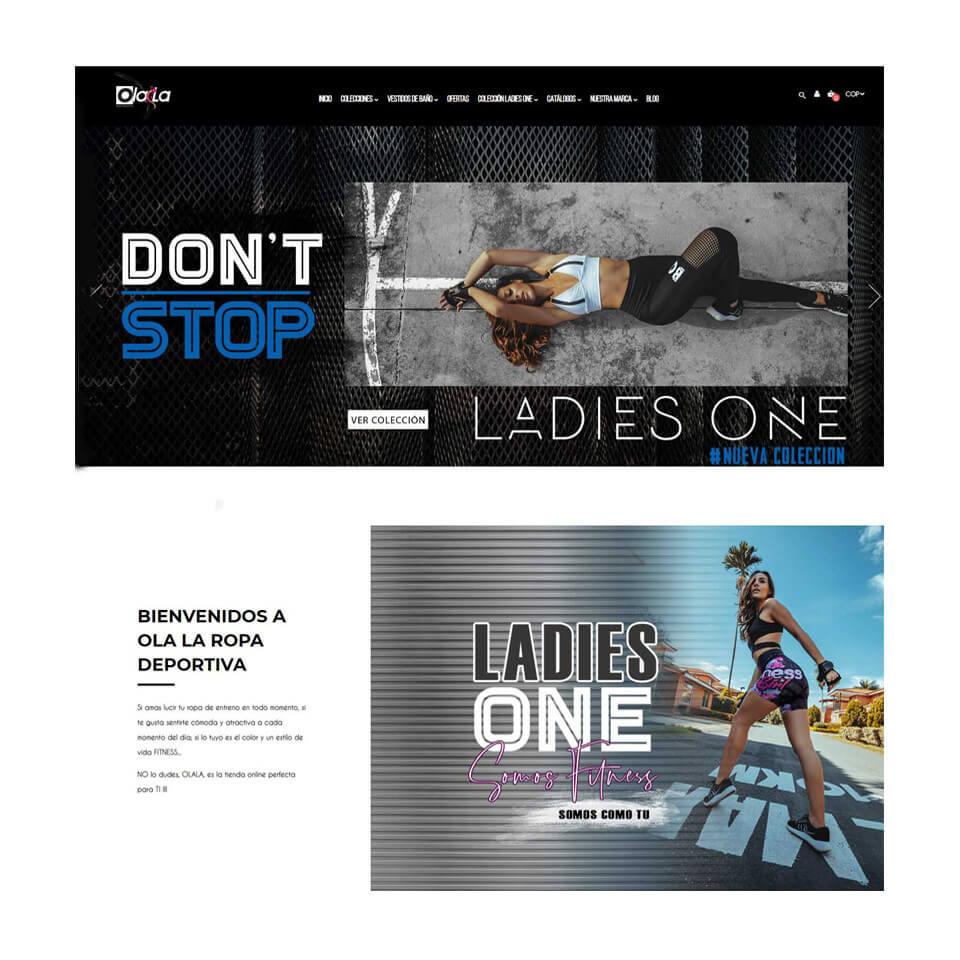 salida online nueva alta calidad a un precio razonable Ola-la Ropa deportiva - Tienda Online de ropa deportiva de ...